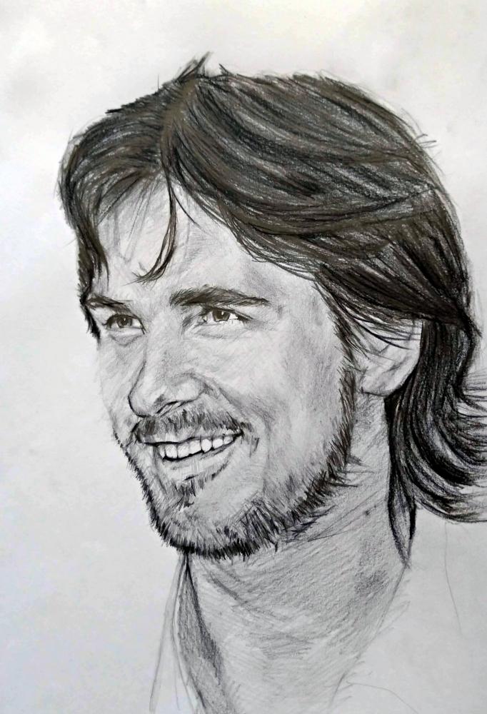 Christian Bale por linshyhchyang